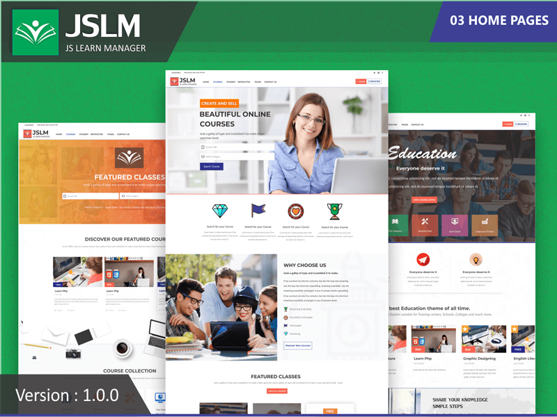 learn-manager-theme